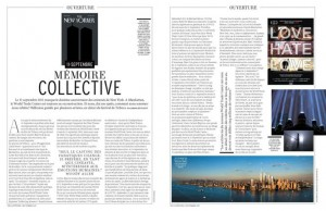 L'Officiel Memoire Collective article Sept. 2011