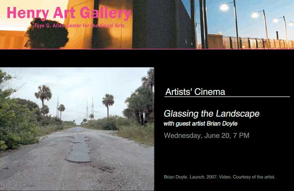 Glassing the Landscape